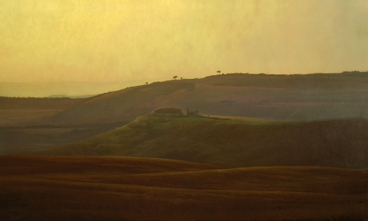 Morning-Rolling Hills of Tuscany - 36x60