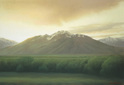 BB0818 - Sunrise Over Mt. Olympus - 30x44