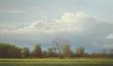 Against A Cumulous Sky II - 42x72